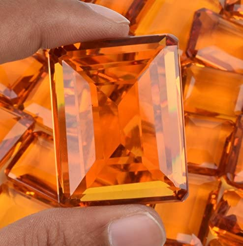 Details about  /Brazilian Yellow Citrine Square Shape Loose Gemstone Lot  500ct//5 Pcs