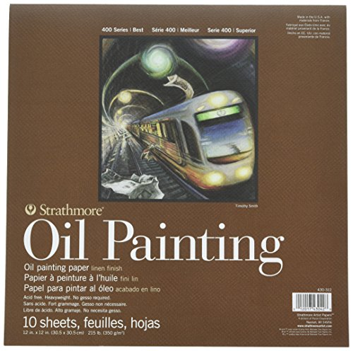 Strathmore 400 Series Oil Painting Pad, 12