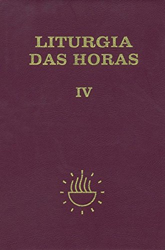 Liturgia das Horas - Volume 4. Capa Zíper