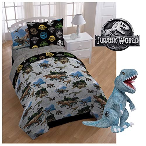 Universal Jurassic World Complete Twin Bed Set
