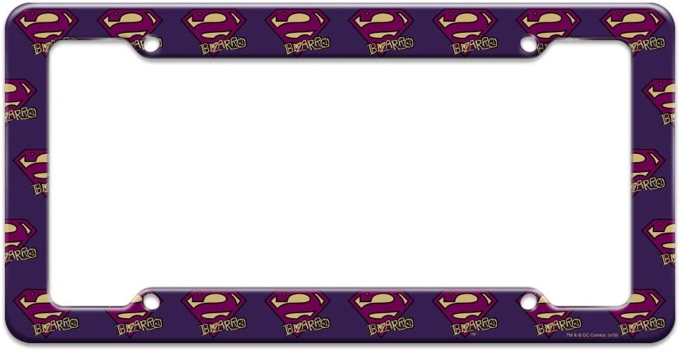 Graphics and More Superman Bizarro Cute Chibi Character License Plate Tag Frame