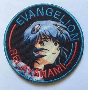 NERV Evangelion Anime Manga Ayanami Asuka Parche Militar Tela Bordado Insignias Parche Tactical Pegatinas para Ropa con Gancho y Bucle: Amazon.es: Juguetes y juegos