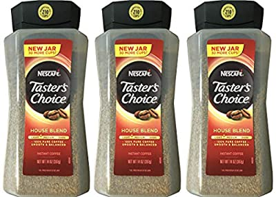 Taster's Choice Original Gourmet Instant Coffee 14 Oz, Pack of 3 from Taster's Choice