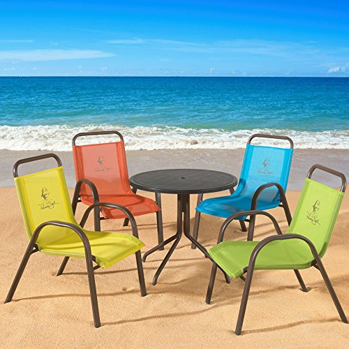 Panama Jack Kids 5-Piece Outdoor Dining Set, Multicolored by Panama Jack Kids (Image #3)