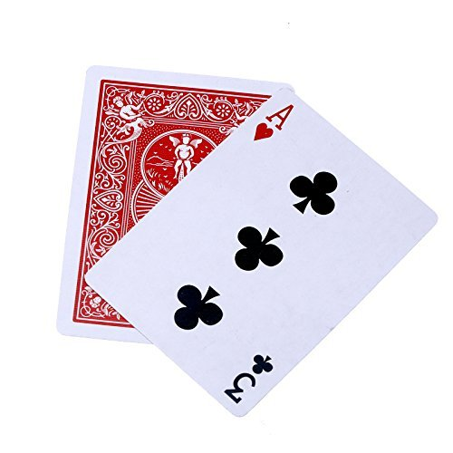 Dophee Magic prop 3 Cards Monte Chase The Ace Close Up Street Classic Easy Cards Trick