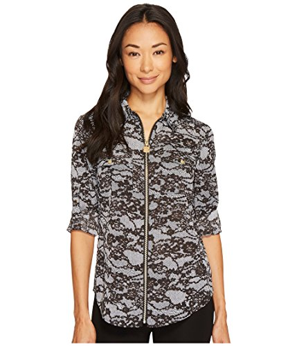 MICHAEL Michael Kors Delicate Lace Lock Zip Top - Michael Kors Shop