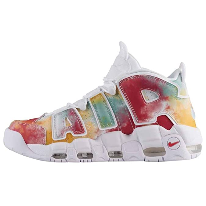 d8bd799c4b Nike Men's's Air More Uptempo '96 UK Qs Fitness Shoes Multicolour  (Amarillo/White/Speed Red/Neptune Green 700), 11.5: Amazon.co.uk: Shoes &  Bags