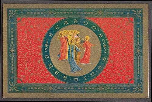 Washington Cathedral Season's Greetings 1940 Calendar card