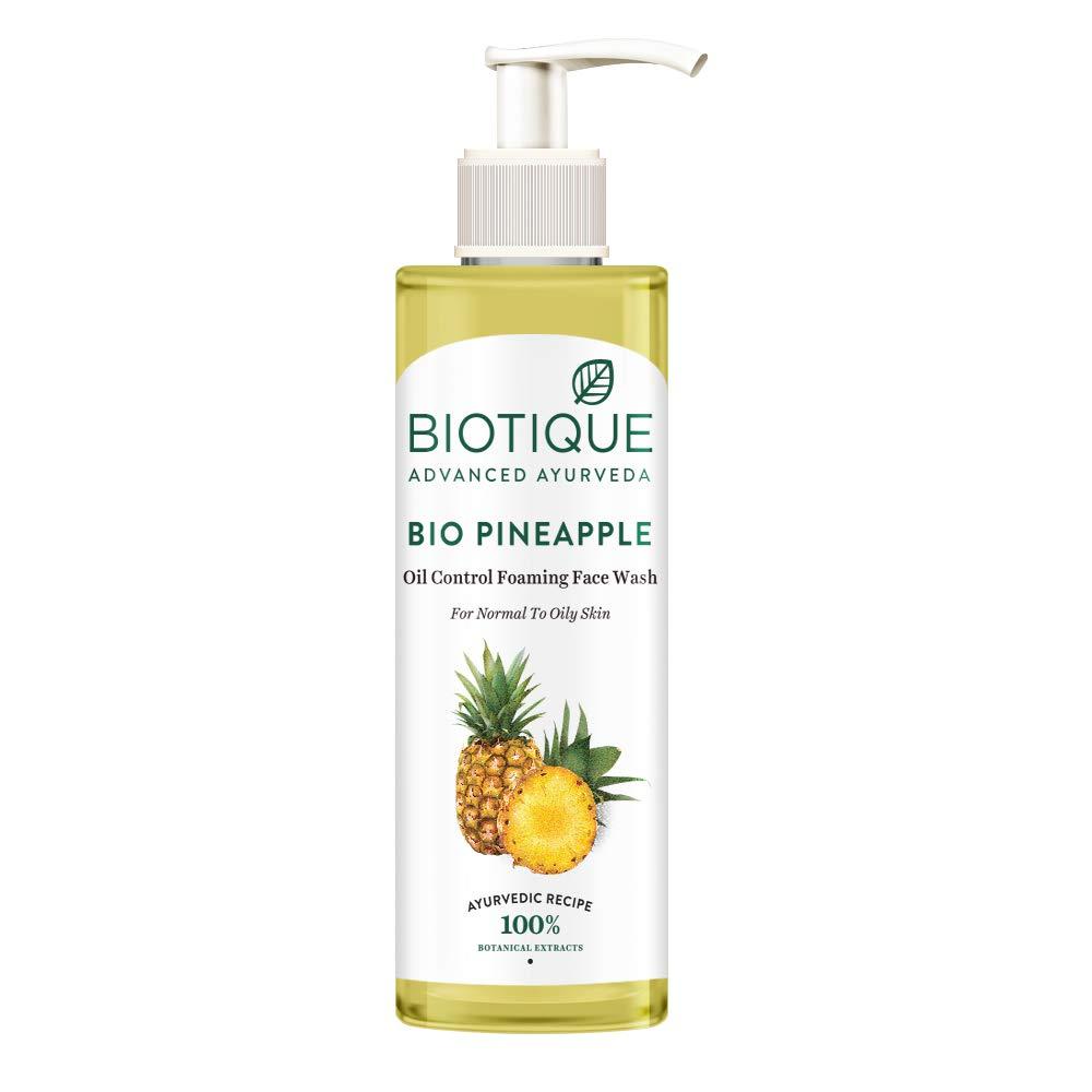 Biotique Pineapple Oil  Face Wash, 200 ml