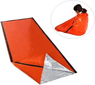 Wankd Sac de Couchage d'urgence, Sac de Couchage de Survie d'urgence pour Le Camping et la randonnée