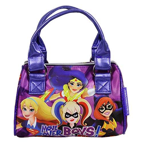 DC Super Hero Girls Move Bolso de Mano Bolera Bandolera al Hombro