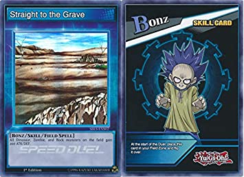 SBLS-ENS02 1st Ed Straight to the Grave SKILL CARD Super Rare Yu-Gi-Oh!