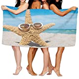 Gemao Yoga Towel Beach and Starfish Custom Personalized Microfiber Absorbent Print Absorbent Towel