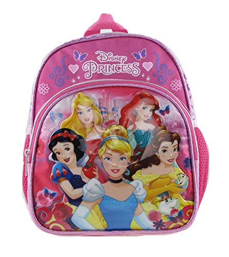 DISNEY PRINCESS - PRINCESS 10 inch Toddler Size Backpack - 16254