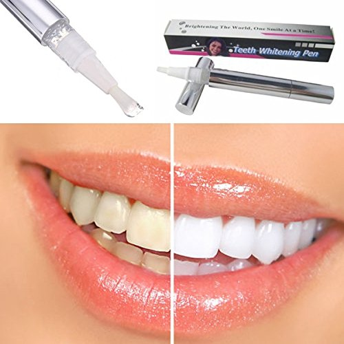 YIJIATeeth Whitening Pen Tooth Gel Whitener Bleach Stain Eraser Remover Instant