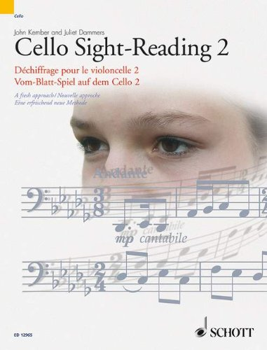 Cello Sight-Reading 2 (The Sight-Reading Series) (Pt. 2)
