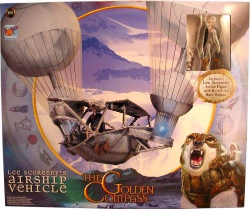 Der Goldene Kompass Lee Scoresby Aeronauten Ballon Playset mit Figur (Airship Vehicle)
