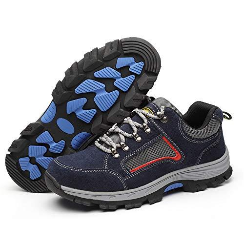 Durable Punture Hombre color 40 Shoes Non Azul Slip Zapatos Azul Resistance De Para Zhrui Eu Seguridad Consturction Tamaño xwzHAnq