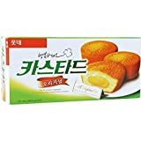 Lotte Custard Cream Cake 138G x 2 count