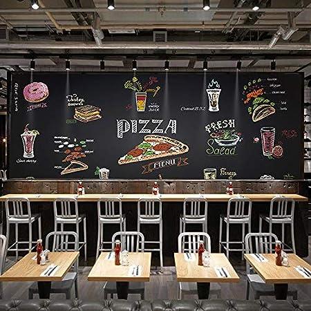 Sucsaistat Mural de Papel Tapiz en 3D Pizarra Pizza Gourmet ...