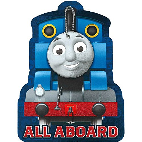 amscan Thomas & Friends Invitations | Pack of 8 | Party Supply]()