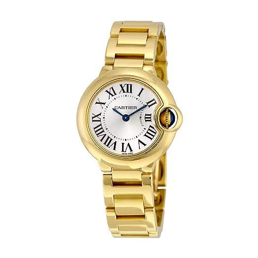 Cartier W69001Z2 - Reloj de pulsera mujer, oro amarillo: Amazon.es: Relojes