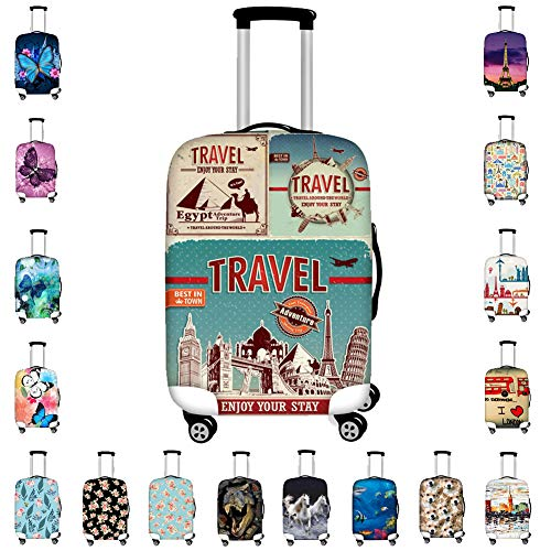 Bigcardesigns Cool Travel Luggage Protective Covers for 26
