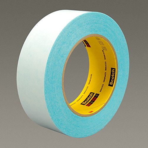 (3M 17536-case Thin Printable Repulpable Single Coated Splicing Tape 9969B, 36 mm x 55 m, Blue (Pack of 24))