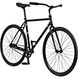 Pure Cycles 1-Speed Urban Coaster Bicycle, 58cm/Large, Flatback Black