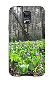 AFyZHOY7910HPJLQ Tpu Case Skin Protector For Galaxy S5 Flower With Nice Appearance