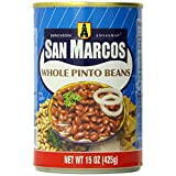 San Marcos Pinto Beans, Whole, 15 Ounce (Pack of 12) by San Marcos