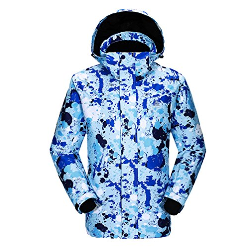 As Picture3 Board and Skiing Ski Coat Thick Men Double Jacket Fashion Single Outdoor Warm Yuncai Mountaineering 6xq14fw6Z