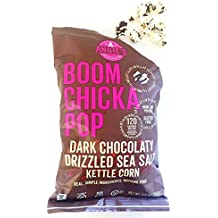 Angie's BOOMCHICKAPOP Indulgent Dark Chocolaty Drizzled Sea Salt Flavored Kettle Corn