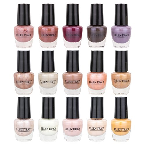 Ellen Tracy The Best Nudes Nail Polish Collection (15 Pack) ()