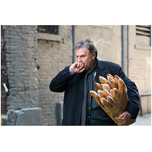 Eden Bread (Michael Clayton with Tom Wilkinson as Arthur Edens Carrying Bread 8 x 10 Inch Photo)