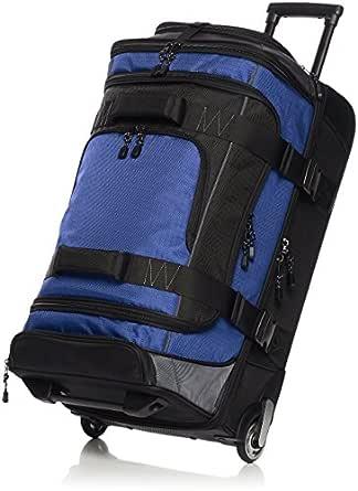 AmazonBasics Ripstop Wheeled Duffel, 26 Inch - Blue