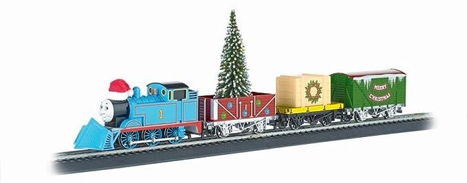 Thomas Christmas Train Set.Bachmann Industries Thomas Christmas Express Ready To Run Electric Train Set