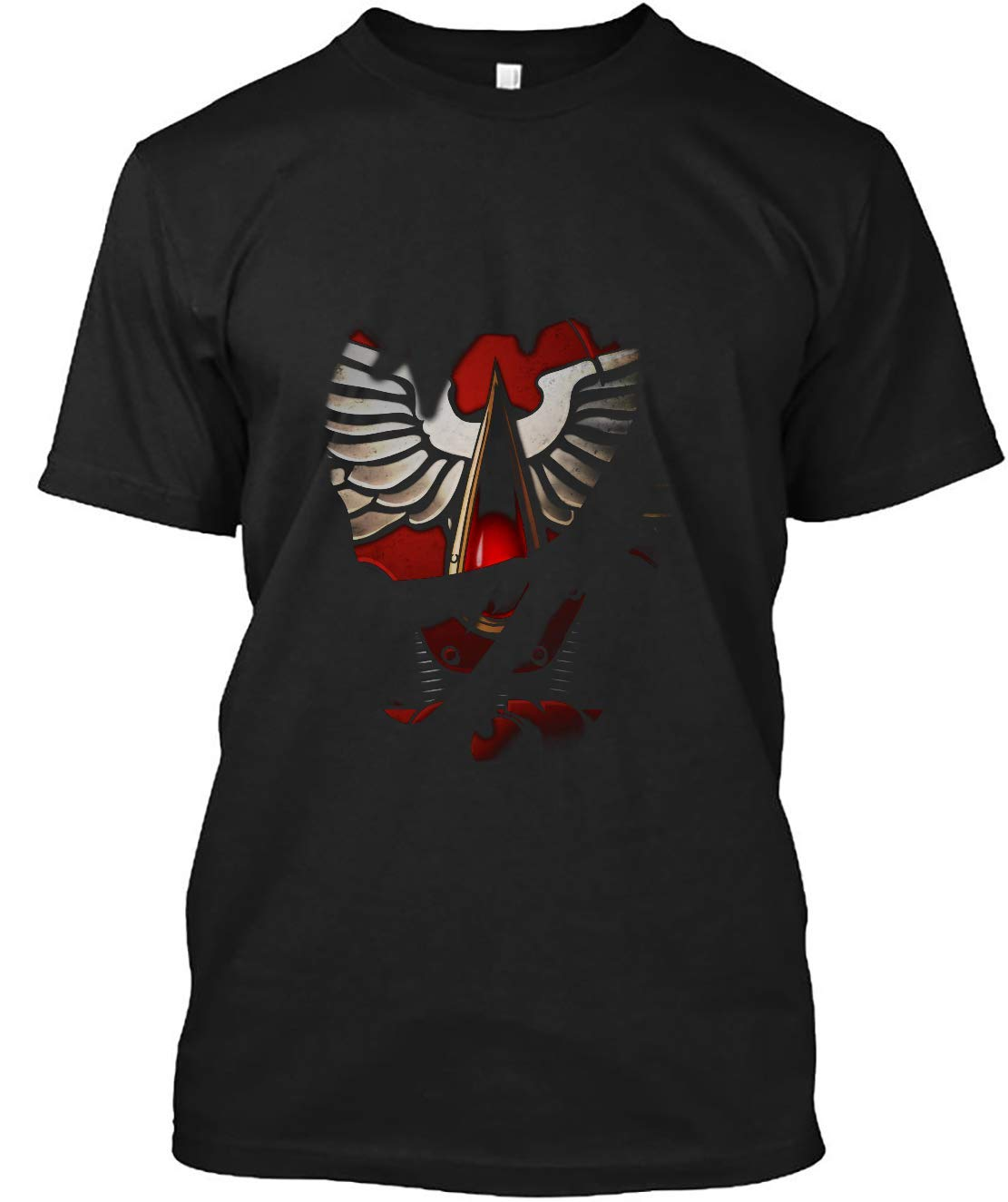 Blood Angels Armor 50 T Shirt For Unisex