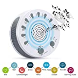 White Noise Machine, GAKOV GAGH-003 Soothing Sleep Therapy Sound Spa Relaxation Machine with 9 Nature Sound Auto-off Timer for Baby, Light Sleepers and Mediators,Traveler