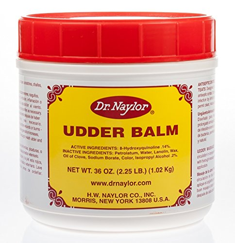 Dr. Naylor Udder Balm (36 oz.) - Traditional Antiseptic Moisturizing Ointment