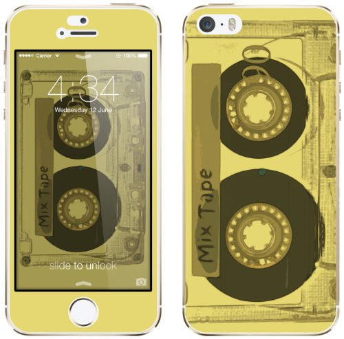 Cellet Mixtape Skin iPhone 5S