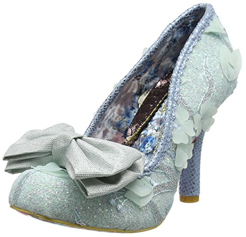 Pale Damen E Choice Bow Mal Rose Irregular Blue Blue Pumps gRSx4q4a