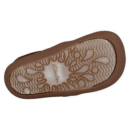 Clarks Shilo Jena Festive Fst Girl's Slippers in Brown Braun