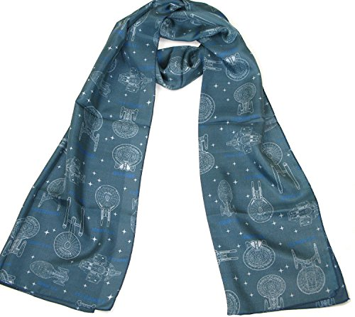 Star Trek Ships of Line Scarf - Official Star Trek Merchandise by LOVARZI