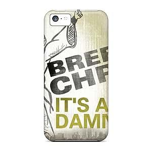 Unique Design Iphone 5c Durable Tpu Case Cover New Orleans Saints