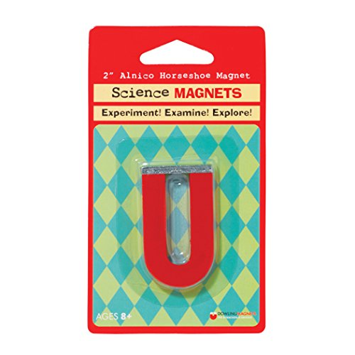 - Dowling Magnets DO-731015BN Magnet Alnico Horseshoe 2in (6 Ea Grade Kindergarten to 1, 2.2799999999999998