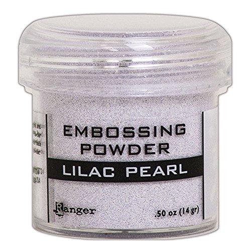 Pearls Embossing Ranger (Ranger Lilac Pearl Embossing Powder)