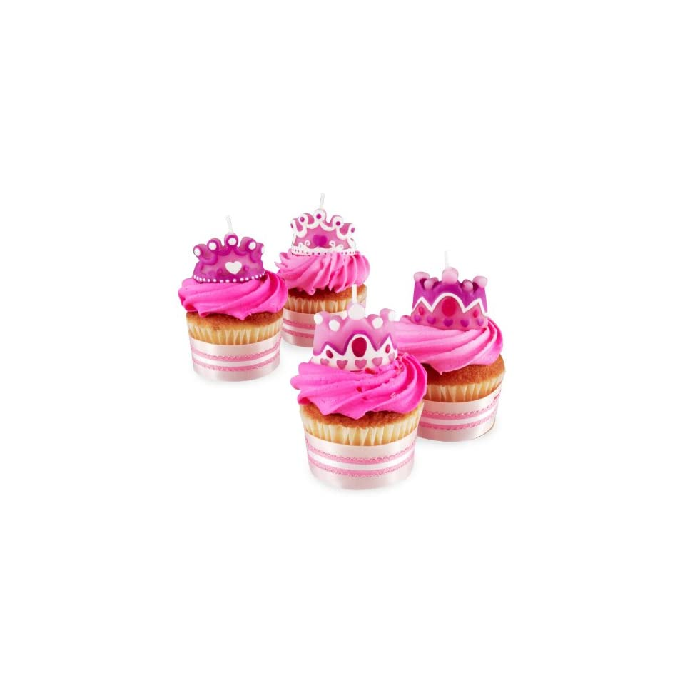 Wilton Princess Party Candles Birthday Girl Cupcake Cake New