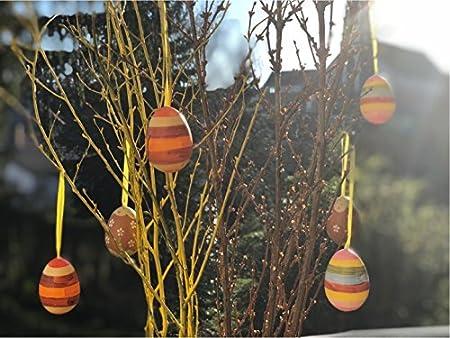 20x St/ück Gr/ün-Mint in plastica da Appendere TK Gruppe Timo Klingler Scelta di Uova di Pasqua Colorate Colori Pastello