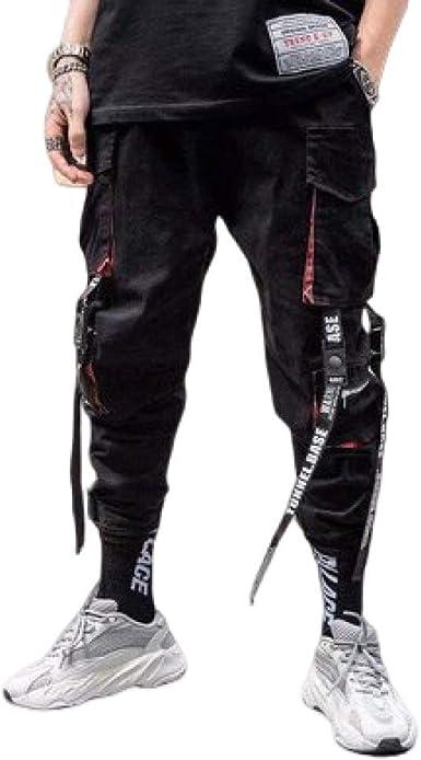 Pantalones para Hombres Monos Pantalones Vigas Pies Moda ...